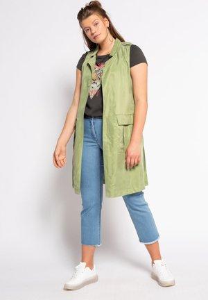 Waistcoat - apfelgrün