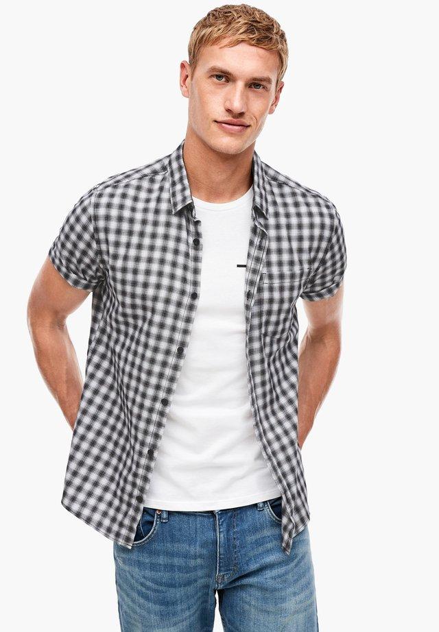 MIT MUSTER - Shirt - white check