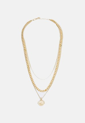 PCKETH COMBI NECKLACE  - Necklace - gold coloured