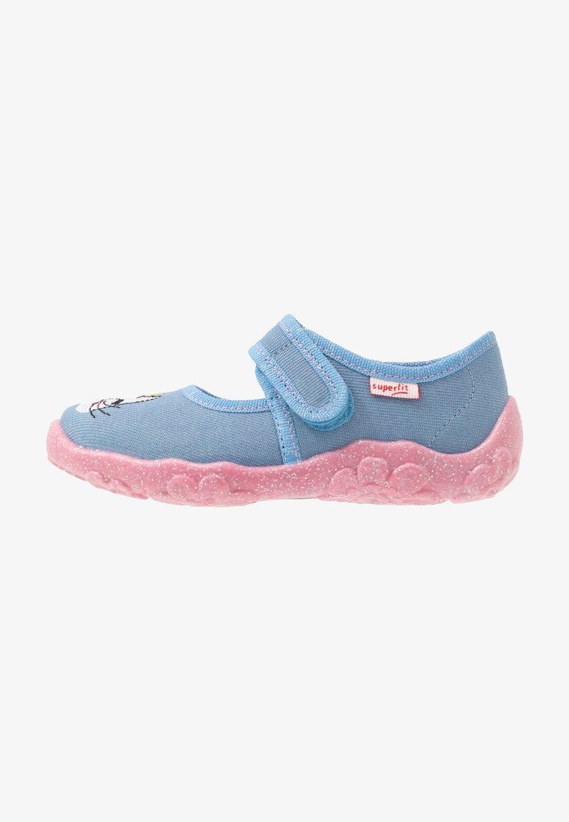 Superfit - BONNY - Domácí obuv - blau
