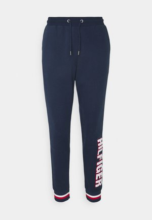 MODERN STRIPE TRACK PANT - Pantaloni del pigiama - desert sky