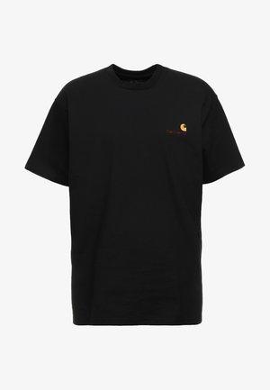 AMERICAN SCRIPT  - T-shirt basic - black