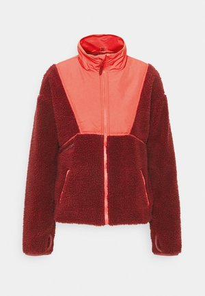 UNFORGETTABLE LANDSCAPES - Fleece jacket - tibetan red