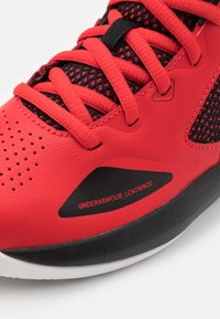 Under Armour - LOCKDOWN 5 UNISEX - Basketball shoes - versa red - 5