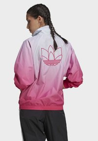 adidas Originals - ADICOLOR 3D TREFOIL TRACK TOP - Veste de survêtement - blue, pink - 1