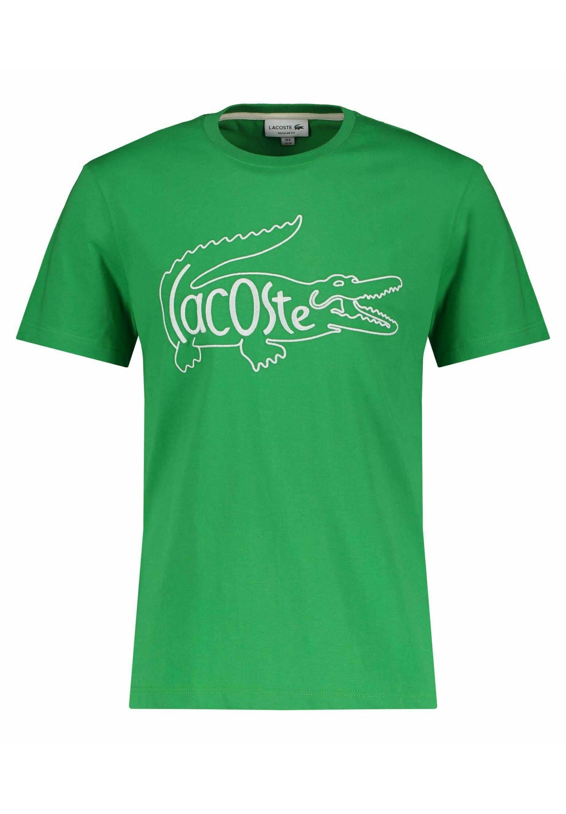 Herren T-Shirt print - grün