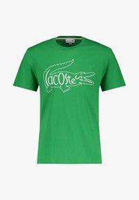 Lacoste - Print T-shirt - grün - 0