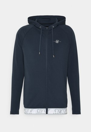 SCOPE TAPE ZIP THROUGH HOODIE - Felpa aperta - navy