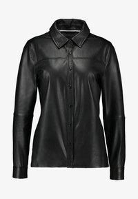 Object - OBJKASANDRA - Košile - black - 4