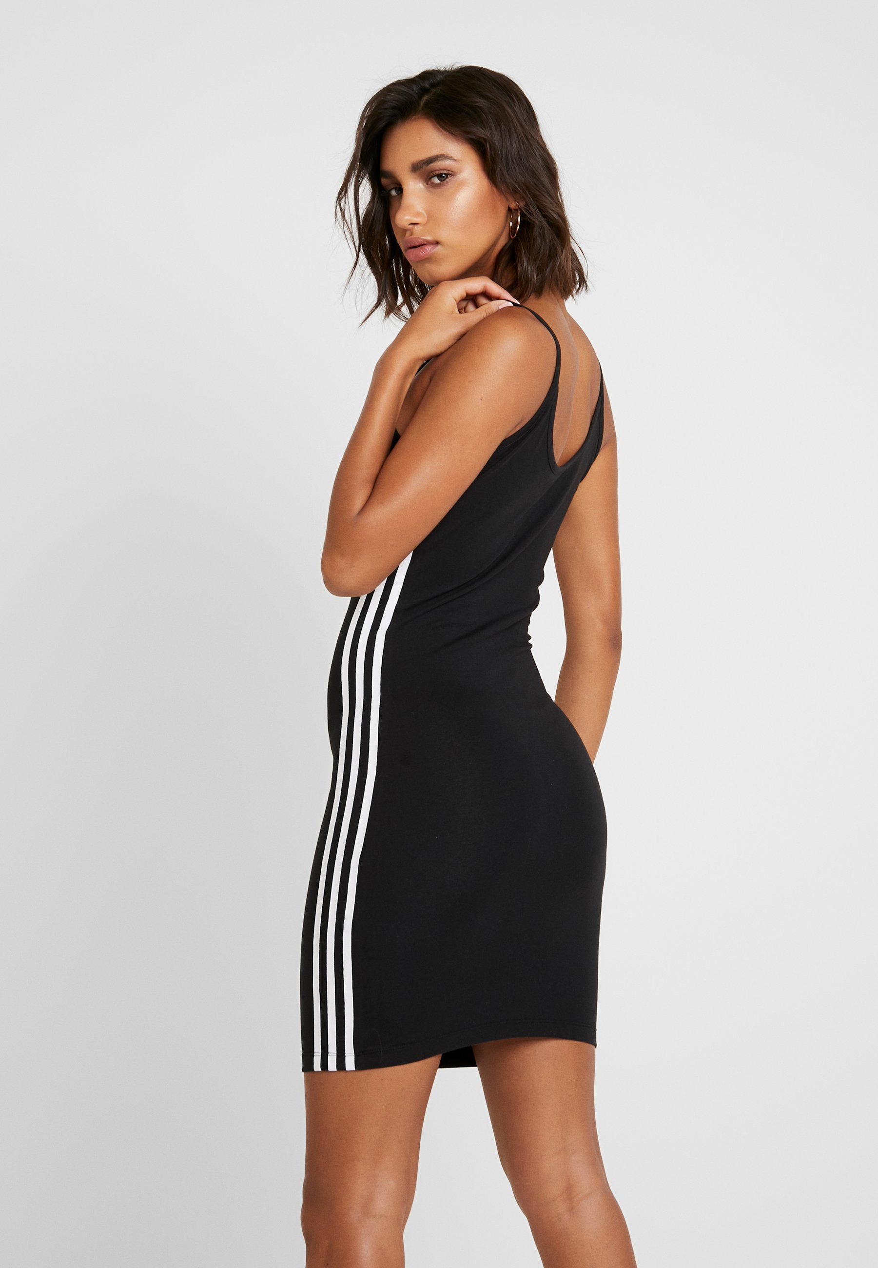 adidas Originals TANK DRESS Fodralklänning blackwhite