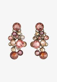 Konplott - WATERFALLS - Earrings - beige/pink - 3