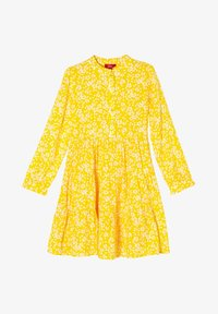 yellow floral aop