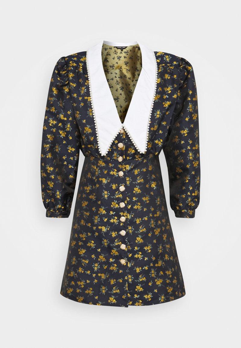 Sister Jane - JOSEPHINE MINI DRESS - Shirt dress - navy