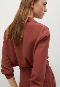 Mango - ARES-I - Button-down blouse - bräunliches orange - 2