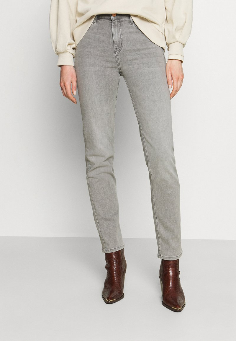 Marks & Spencer London - SIENNA - Straight leg jeans - grey denim