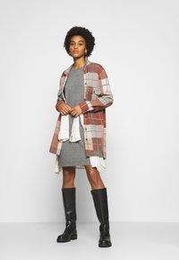 ONLY - ONLELENA DRESS - Jumper dress - medium grey melange - 1