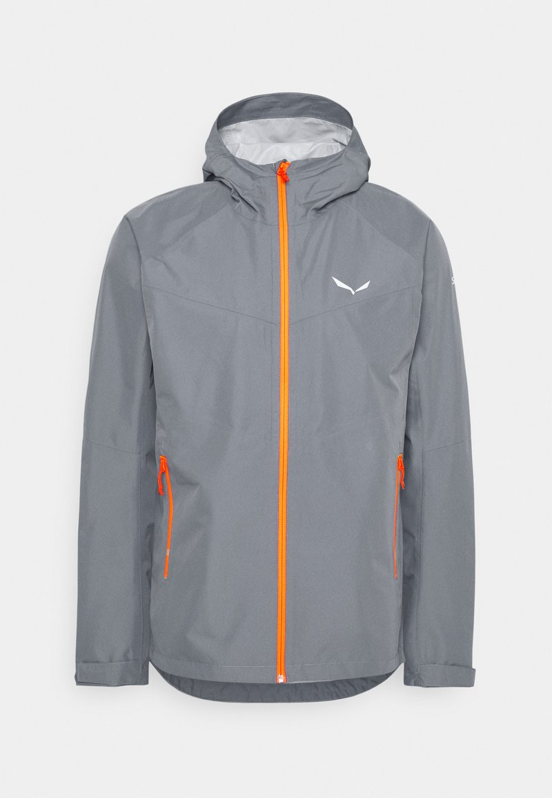 Salewa - PUEZ - Waterproof jacket - flint stone