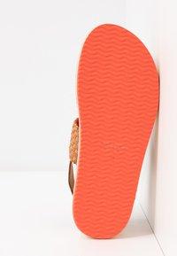 GANT - MIDVILLE  - Platform sandals - cognac/coral - 6
