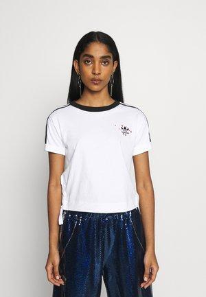 TREFOIL SHORT SLEEVE TEE - T-shirts med print - white