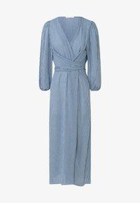 OYSHO - GINGHAM - Day dress - blue - 4