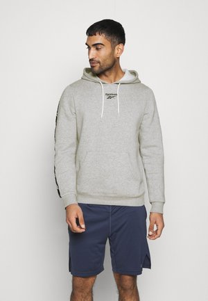TAPE HOODIE - Sweat à capuche - grey
