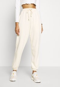 Missguided - OVERSIZED JOGGER - Tracksuit bottoms - grey - 0