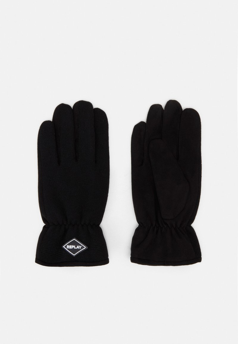 Replay - Gloves - black