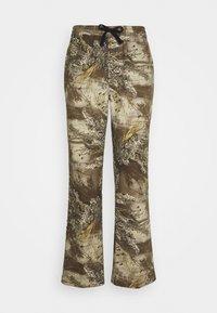 HUF - LINCOLN - Flared Jeans - khaki - 0