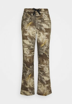 LINCOLN - Flared jeans - khaki