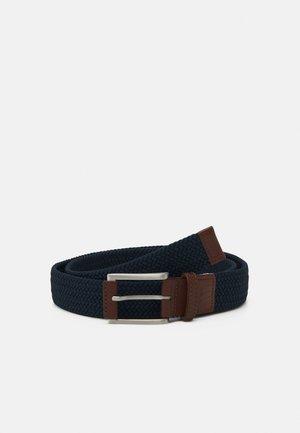 X WEAVE BELT '21 - Belt - navy blazer
