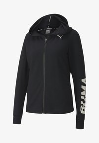 Puma - veste en sweat zippée - black - 0