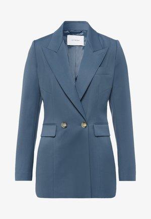 Short coat - smoked sapphire