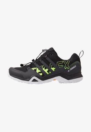 TERREX SWIFT R2 - Hiking shoes - core black/signal green