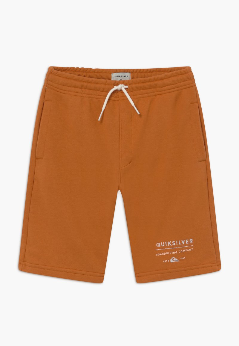 Quiksilver - EASY DAY TRACK  - Teplákové kalhoty - apricot buff