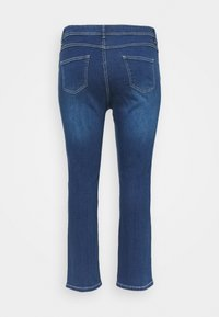 Evans - MIDWASH SHORT LENGTH - Jeans straight leg - blue - 1