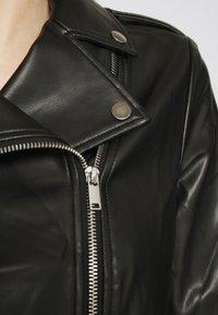 Marks & Spencer London - Bunda zumělé kůže - black - 5