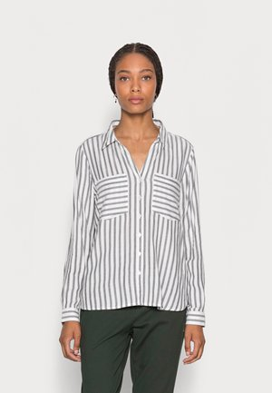 STRIPED COZY  - Skjortebluser - brown white