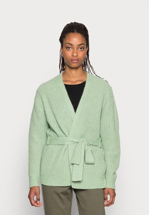 ANNIKA CARDIGAN - Cardigan - mistletoe green