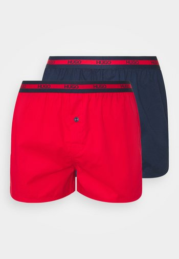 2 PACK  - Boxer shorts - open red