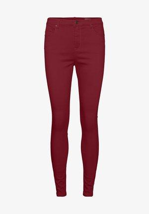 Jeans Skinny Fit - cabernet