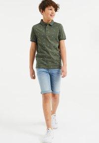WE Fashion - Polo shirt - army green - 0