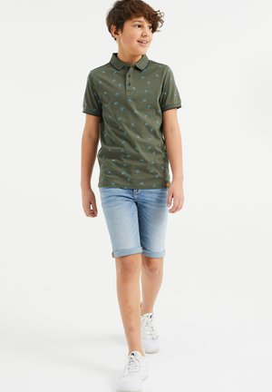 Polo shirt - army green