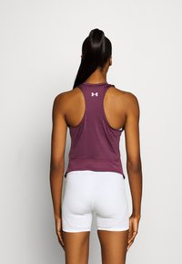 Under Armour - PROJECT ROCK TANK - Funktionsshirt - level purple - 2