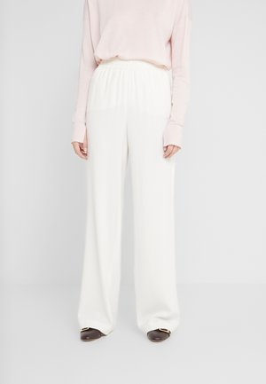 FASHION SHAPED - Trousers - offwhite