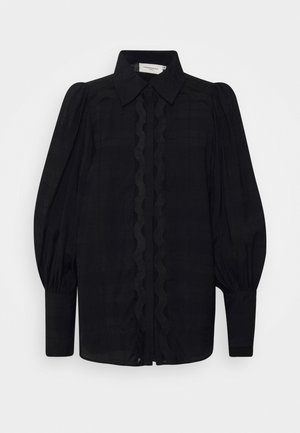 CMULTRA - Button-down blouse - black