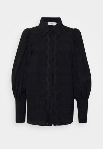 CMULTRA - Button-down blouse - black
