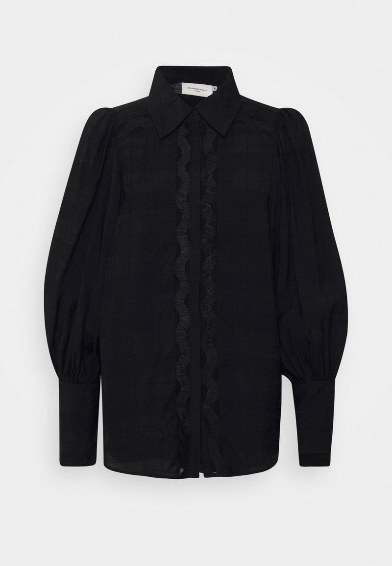 Copenhagen Muse - CMULTRA - Button-down blouse - black