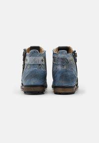 Yellow Cab - INDUSTRIAL - Šněrovací kotníkové boty - yeans - 2