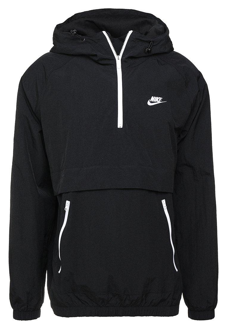 nike sportswear windrunner leichte jacke black white