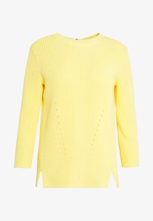Pullover - light/pastel yellow